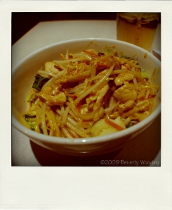 malay noodles with chicken