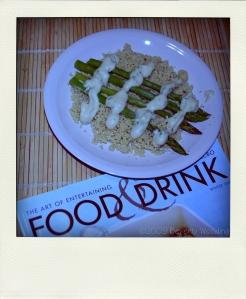 asparagus cous cous