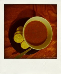 red pepper black bean soup