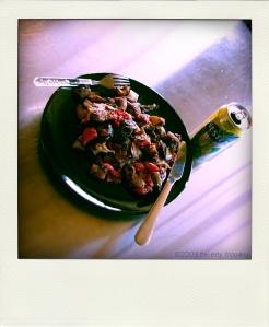 roast veg & chicken