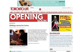 Chef Teo Paul's Blog at Toronto Life