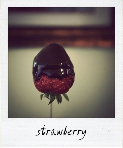 chocolate dipped strawberry