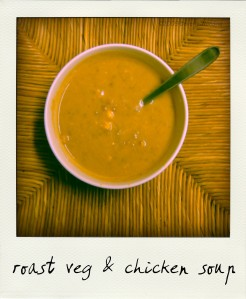 roast veg soup
