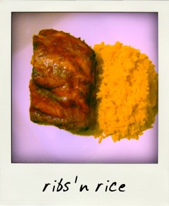 ribs & rice