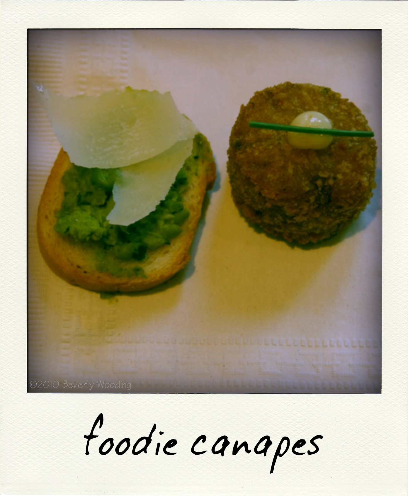 foodie canapes
