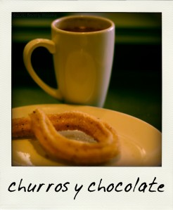 Churro & chocolate