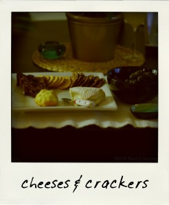 cheeses & crackers